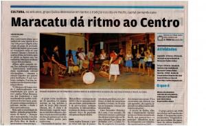 Materia do Quiloa no jornal Atribuna