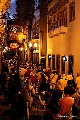 Ruas do Centro Histórico de Santos