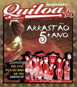 QUILOA flyer arrastão 2010 copy
